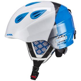 Alpina Grap 2.0 - Casco de bicicleta Niños - azul/blanco